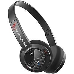 Creative Sound Blaster Jam GH0300 - Auriculares de diadema cerrados Bluetooth (control remoto integrado), negro