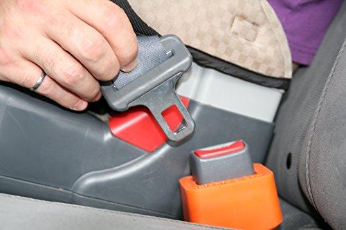 Lulabloc Seat Belt Holder - Orange (Seat Belt Buckle Holder compare prices)