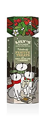 Lily's Kitchen Fabulously Festive Treats for Cats, Pack of 3