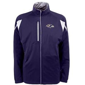NFL Men's Baltimore Ravens Desert Dry Full Zip Jacket from Antigua