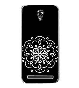 Beautiful Design 2D Hard Polycarbonate Designer Back Case Cover for Asus Zenfone Go ZC500TG (5 Inches)