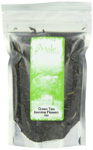 Hale Tea Green Tea, Jasmine Flowers Congou, 2-Ounce