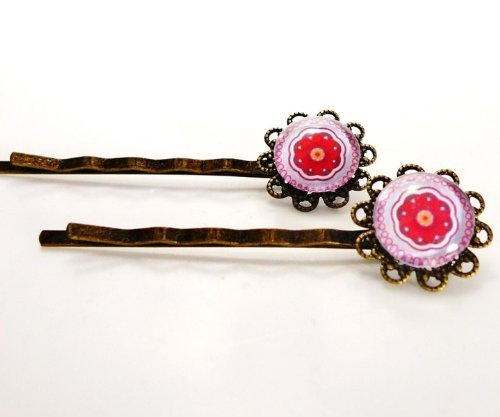 2 pieces Set Hair Jewelry - 70s [Jewelry]