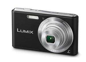 Panasonic Lumix DMC-F5K 14.1 MP Digital Camera with 28-140mm 5x Lens (Black)