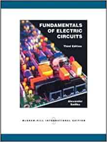free solution manual of fundamentals of electric circuits 4th edition