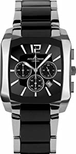 Jacques Lemans Men's 1-1630A Dublin Classic Analog Chronograph with HighTech Ceramic and Sapphire Glass Watch