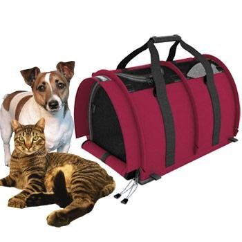 SturdiBag Divided Large Pet Carrier, Large Divided Pet Carrier 2 in 1 Pet Carrier Tote, Airline,AAA Approved, Size Large 18″L X 12″W X 12″H