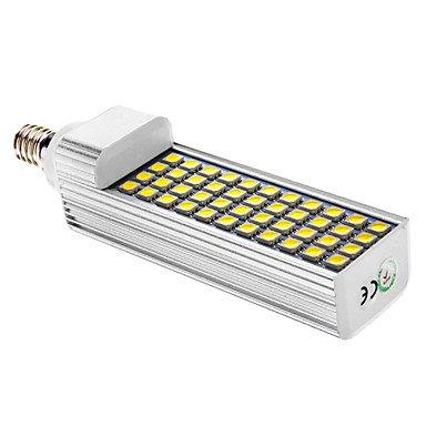 E14 11W 44X5050Smd 600Lm 6000-6501K Cool White Light Led Corn Bulb(Ac 85-265V)