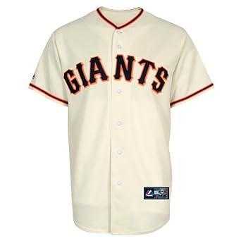 MLB San Francisco Giants Madison Bumgarner Ivory Home Replica Baseball Jersey, Ivory by Majestic