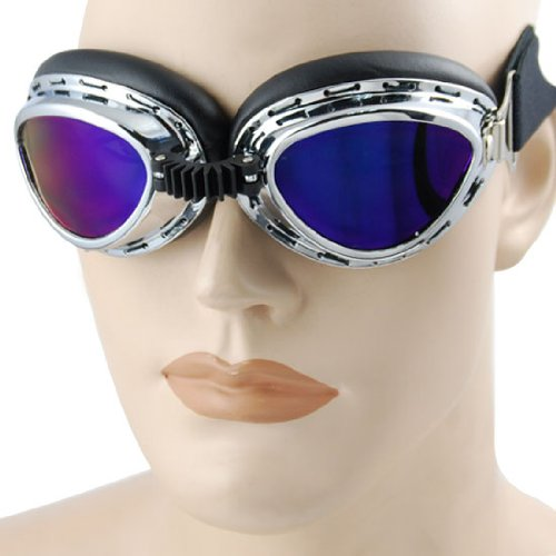 Steampunk Punk Style Fashion Colorful Lens Sun UV Eye Eyes Safety Protect AirSoft Ray War Paint Ball War Game Goggles Goggle Sunglasse