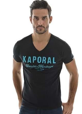 Kaporal 5 - T-shirt Kaporal 5 fast coton noir - Taille M