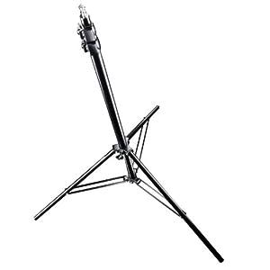 Walimex Pro FW-806 AIR Lampenstativ (max. Höhe 280 cm, 2 luftgefederte Segmente, max. Belastbarkeit ca. 6kg)