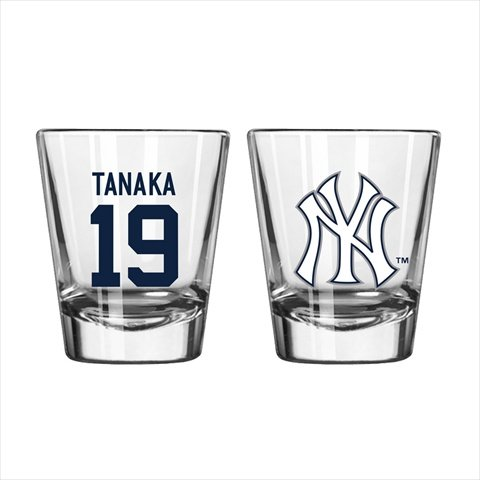 Boelter MLB New York Yankees Masahiro Tanaka No.19 Shot Glass