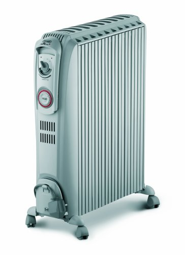 De'Longhi Dragon 3 TRD1025T Oil Filled Radiator with Timer, 2.5 kW