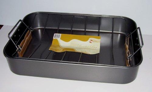 Large Nonstick Roasting Lasagna Pan with V-Rack 17 x 12 x 3