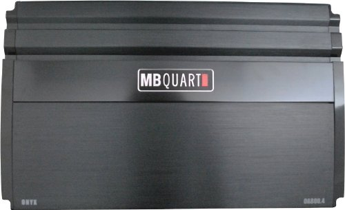 Mb Quart Oa800.4 800-Watt 4-Channel Onyx Series Car Audio Amplifier