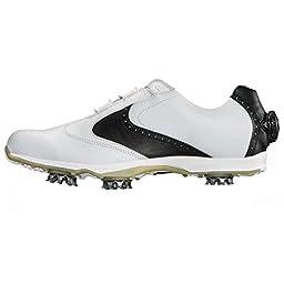 FootJoy Embody BOA Golf Shoes 2016 Ladies White/Black Medium 10