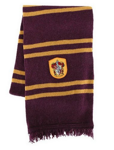 Harry Potter Badge Gryffindor Sorting House Scarf Cosplay Costume