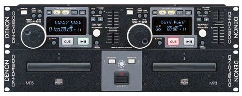 Denon DND4500 Dual CD/MP3 Player MP3 Capable