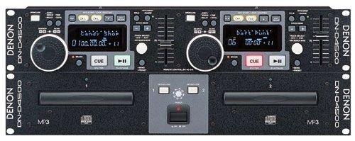 Denon DND4500 Dual CD/MP3 Player MP3 Capable