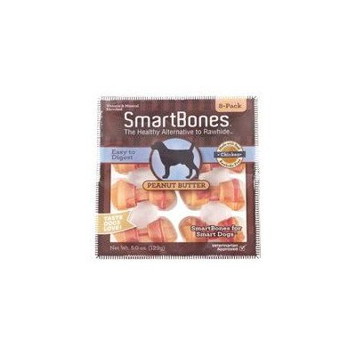 Peanut Butter Dog Treat  Size: Mini/16-Pack