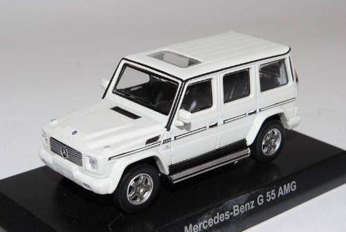 Mercedes-Benz G-Klasse G55 AMG Weiss 2001-2011 W463 1/64 Kyosho Sonderangebot Modell Auto