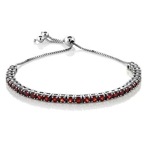 genuine-natural-garnet-gemstone-birthstone-adjustable-bracelet-in-925-sterling-silver-450-ct-925