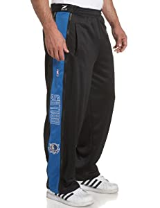 Dallas Mavericks NBA Team Panel Pant With Zipway Shell ( Large)