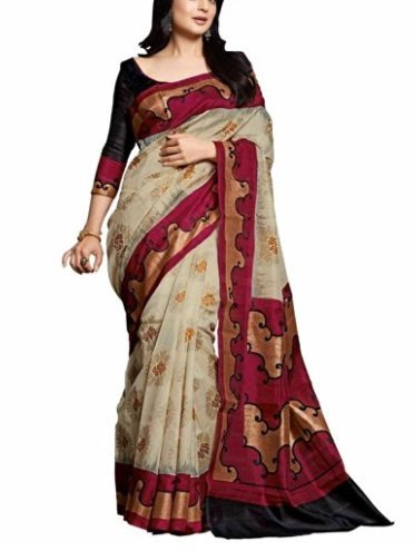 Vipul Minakari Silk Saree (11447 _Red)