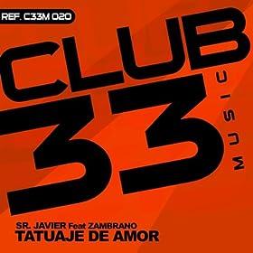 Amazon.com: Tatuaje Del Amor (Ruben Zambrano Instrumental