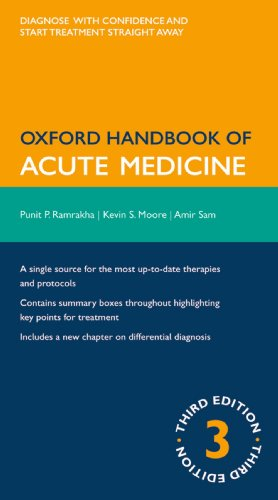 Electronics free books download Oxford Handbook Of Acute Medicine ePub CHM PDF in English