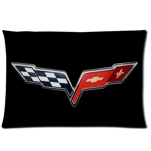 home-decor-custom-chevrolet-corvette-zippered-pillow-case-twin-sides-20x30-inch