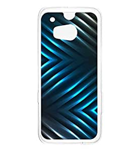 a AND b Designer Printed Mobile Back Cover / Back Case For HTC One M8 (HTC_M8_1747)