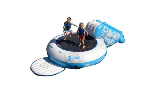 Rave O-Zone XL Plus Water Bouncer (White/Blue)