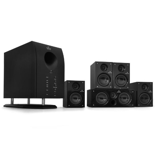 XCess 5.1 aktives Surround Boxen Lautsprecher Set 6500W PMPO - 95 Watt RMS