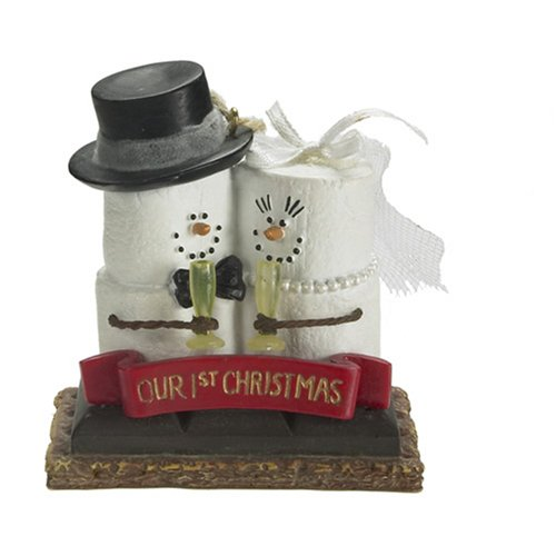 Original S'mores Our 1st Christmas Together Chrismas Ornament Bride & Groom Wedding