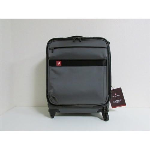 VICTORINOX ビクトリノックス ヴィクトリノックス スーツケース アボルブ 20X キャリーオン ブラック【新品】Victorinox Avolve 20X 20/51 CM EXTRA CAPACITY EXPANDABLE WHEELED Carry On Black [並行輸入品]