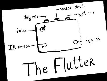 ezhi&aka The Flutter エジーアンドアカ ザフラッター 超絶個性派ペダル! 国内正規品