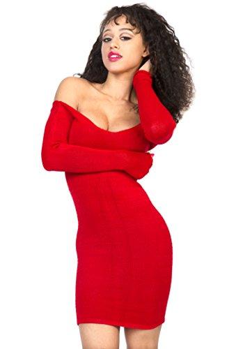 felpa-vestito-sexy-da-donna-al-ginocchio-elegante-healthy-modesta-sofisticato-rosa-extra-large