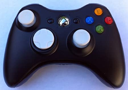 White D-pad. Led, Sticks, 17 Mode Drop Shot, Quick Scope, Auto Aim, Dual Rapid Fire, Reprogrammable Xbox 360 Modded Rapid Fire Controller Mw3 Black Ops Mw 2