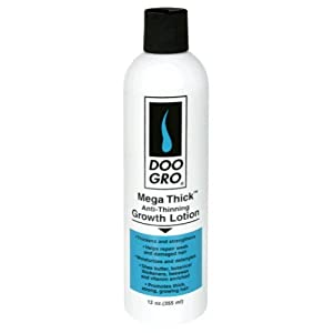 Doo Gro Mega Thick Anti Thinning Growth Lotion, 12 ounce (Pack of 12)