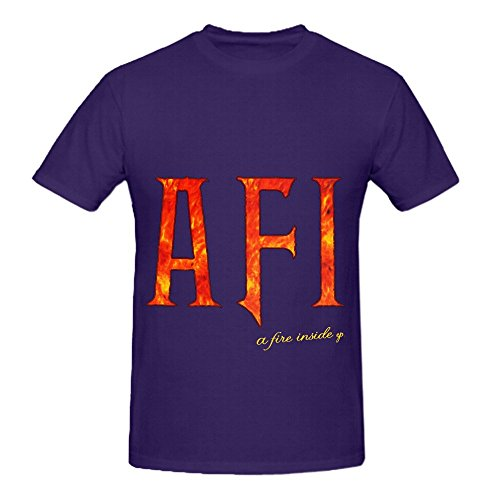 Afi A Fire Inside Ep Tour Rock Men O Neck Customized Tee Purple (Nissan Lifting Kit compare prices)