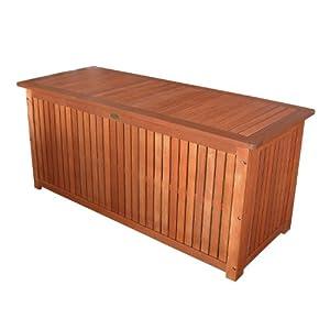 massive auflagenbox holz mit innentasche kissenbox. Black Bedroom Furniture Sets. Home Design Ideas