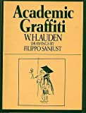 Academic Graffiti (0394471830) by Auden, W. H.