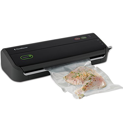 FoodSaver FM2000-FFP Vacuum Sealing System with Starter Bag/Roll Set, Black (Foodsaver Vacuum Sealer Handheld compare prices)