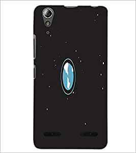 PrintDhaba Earth D-2042 Back Case Cover for LENOVO A6000 PLUS (Multi-Coloured)
