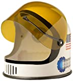 Aeromax Youth Astronaut Helmet with movable visor, White