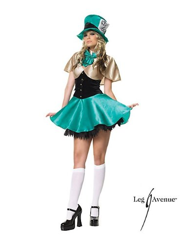 Mad Hatter Tea Party Hostess Sexy Adult Costume