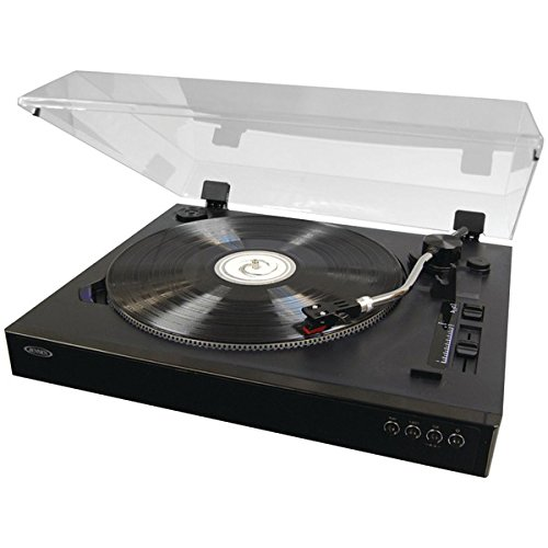 Jensen Professional 3-Speed Stereo Turntable