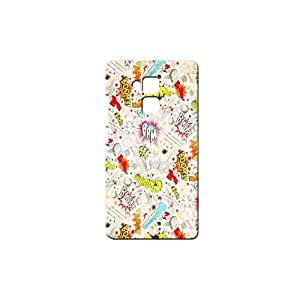 Bluedio Designer Printed Back case cover for Huawei Honor 5C - G2851